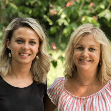 Natalia Tarnowska i Agnieszka Prędkiewicz